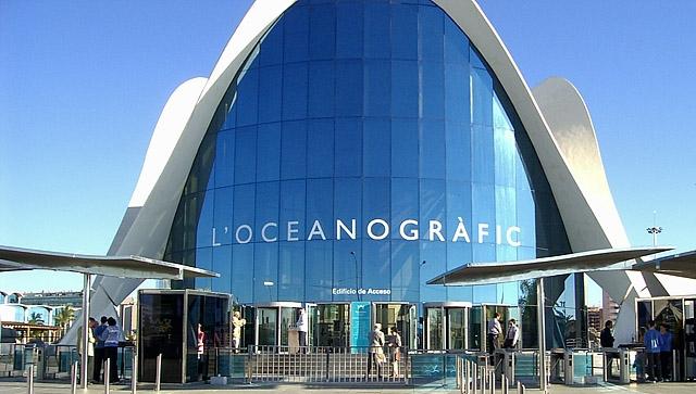 Океанариумы мира: L'Oceanografic, Испания