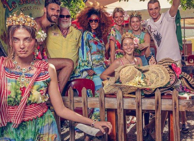 Украинская модель снялась в кампейне Dolce & Gabbana