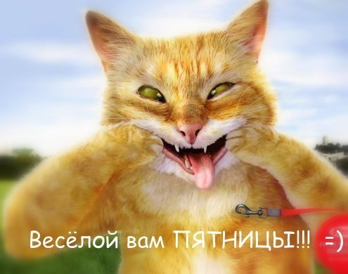 Веселой пятницы ;)