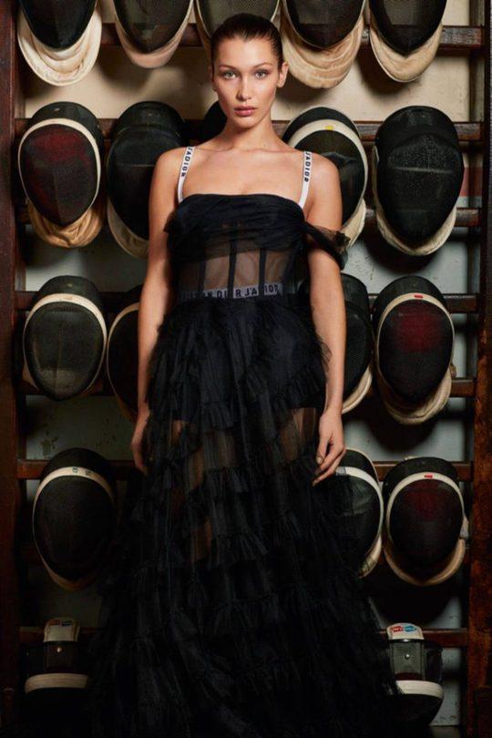 І буде спорт: Белла Хадід в новій фотосесії для Vogue