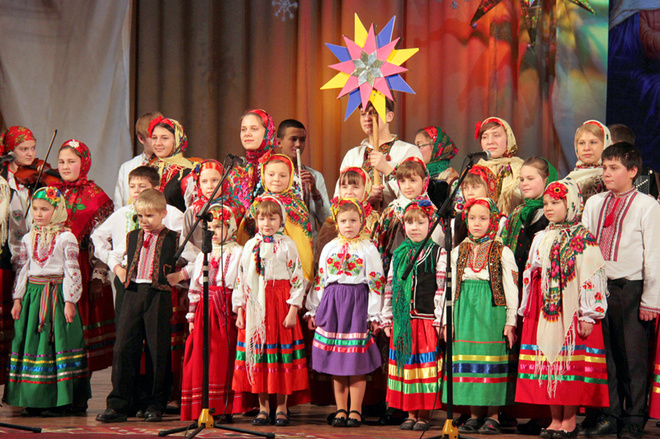 Украинские щедривки