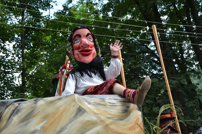 Первый открытый Гуцульский карнавал