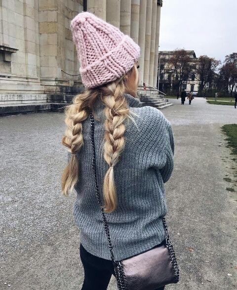 Зачіски на зиму