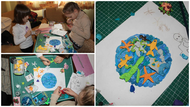 """Картины из пластилина: """"наивное"""" искусство художницы Татьяны Лазарюк"""