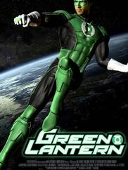 Зеленый Фонарь 3D