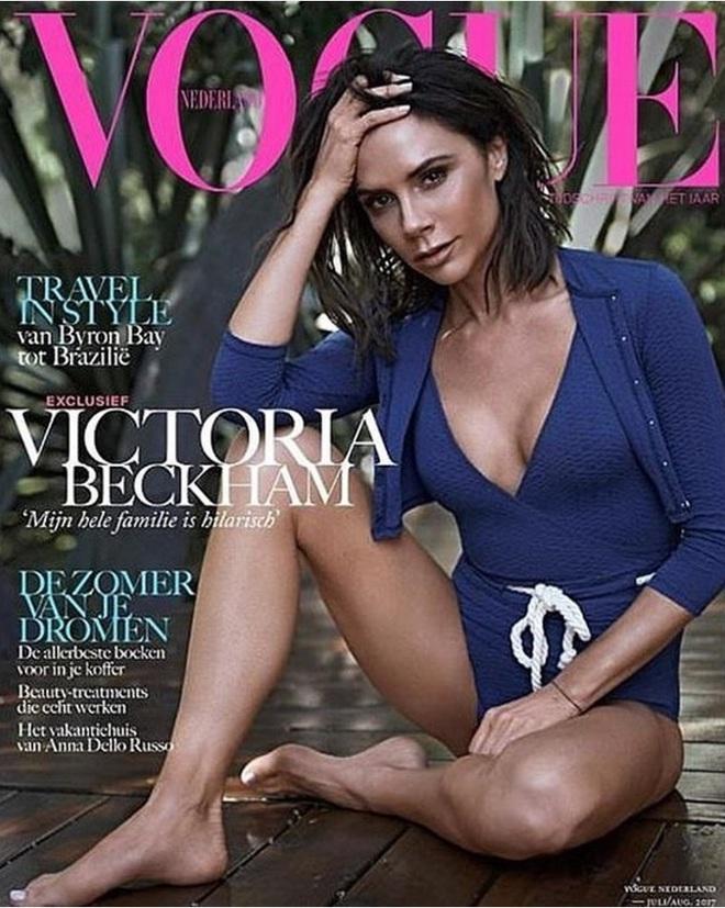 Виктория Бекхэм для Vogue