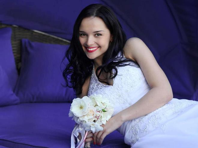 Евгения Диордийчук, свадьба
