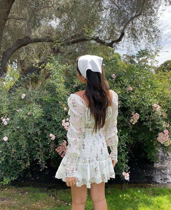 Модные мини-платья на лето в ретро-стиле