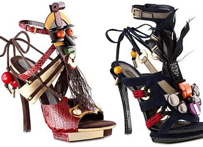 Louis Vuitton представляет «летние ножки»