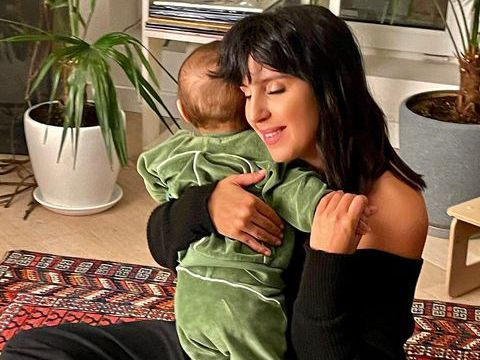 Джамала с младшим сыном