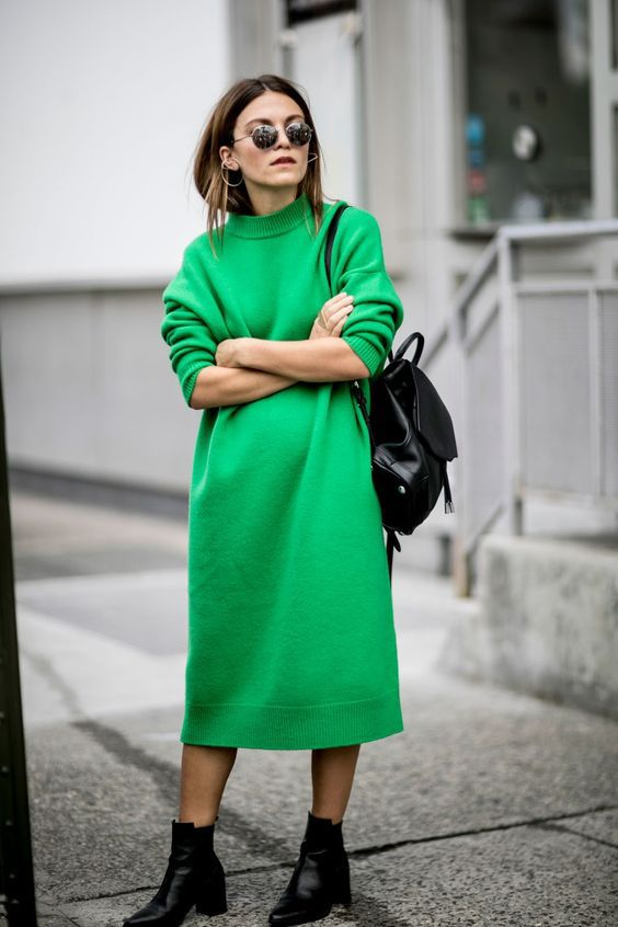 Платье осень-зима 2017/2018