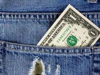 Деньги и джинсы