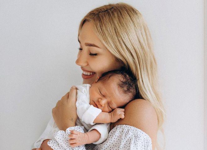 Даша Квіткова з сином