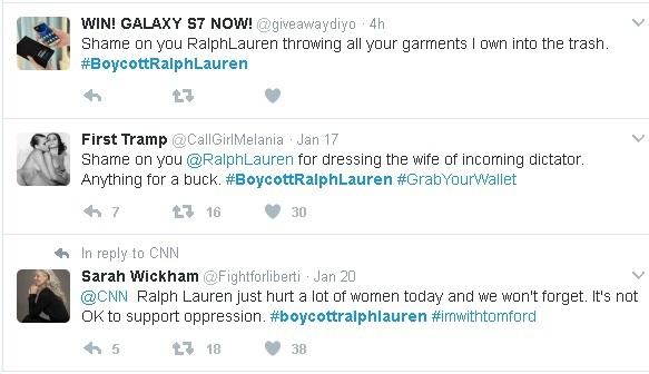 #BoycottRalphLauren: Американці виступили проти Ральфа Лорена