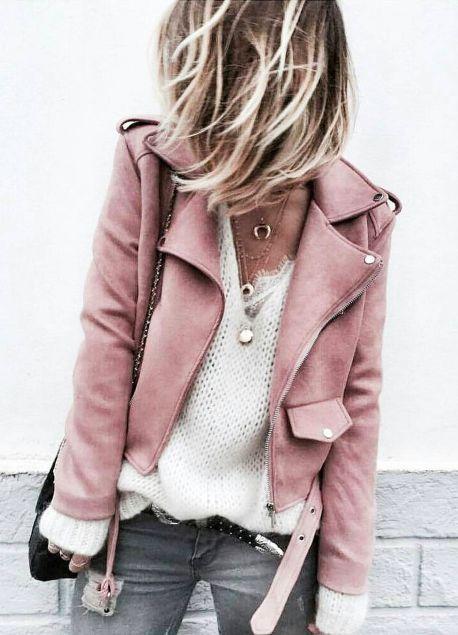 Як носити рожевий колір навесні