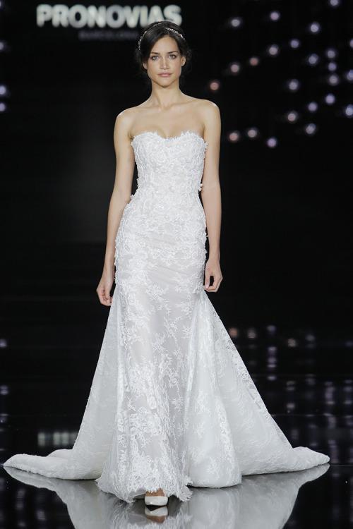 Показ свадебных платьев Pronovias