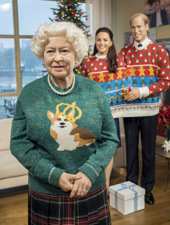 Рождественское настроение: как одели восковую копию Кейт Миддлтон в  мадам Тюссо