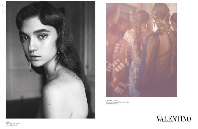 Українська модель стала обличчям модного будинку Valentino