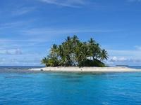 Остров посреди окена