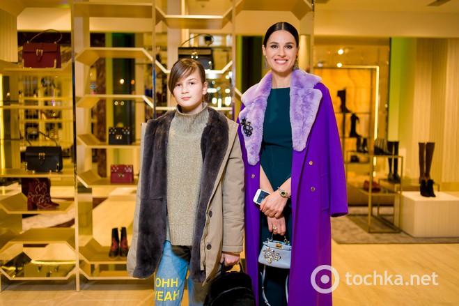Маша Ефросинина и дочь