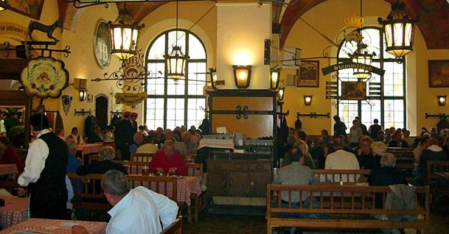 Губит людей не пиво: куда поехать любителям пенистого - пивной паб Хофбройхаус, Мюнхен, Германия