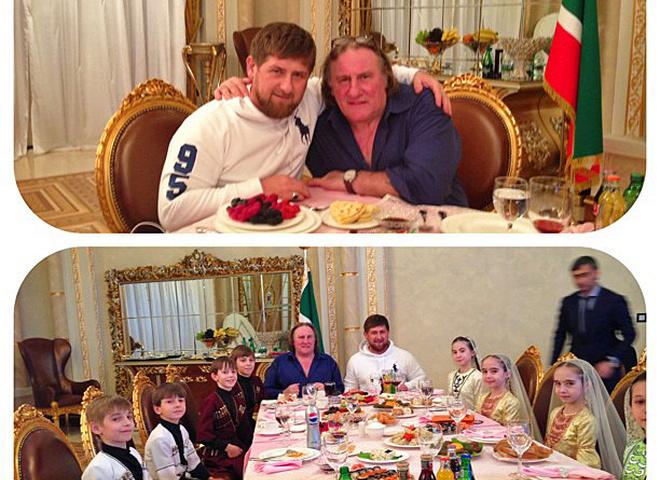 Рамзан Кадыров, Жерар Депардье