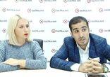 Ниджат Мирзоев и Татьяна Мерзлая в гостях у tochka