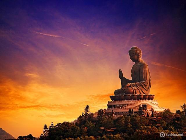 Захід сонця: Lantau Island, Гон-Конг
