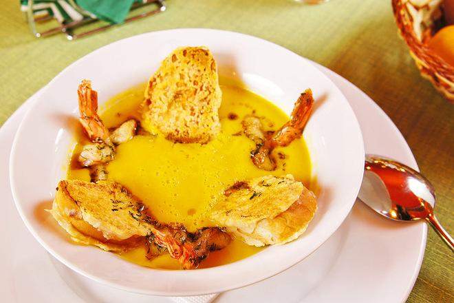 Рецепт гарбузового супу