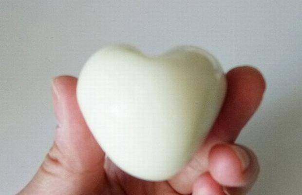 Сердечки из вареных яиц и другие приколы