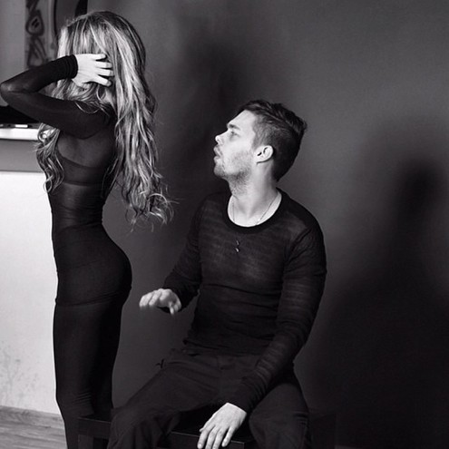 Аристарх Венес з дівчиною