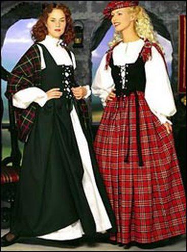 Ирландская женская одежда