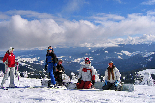 Веб-спостереження за гірськолижними курортами