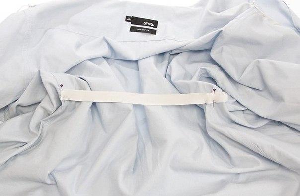 Делаем из мужской рубашки женскую