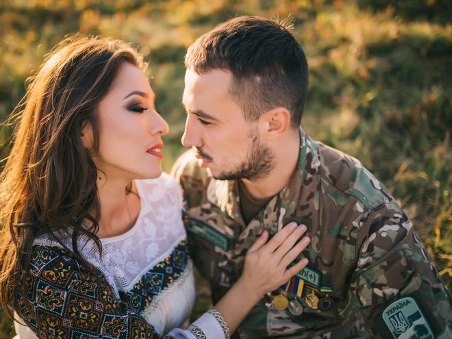 Наталка Карпа и Муж