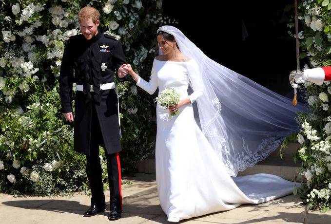 Меган Маркл весільна сукня