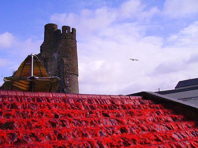 Самые необычне фонтаны: Кровавый фонтан, Уэльс