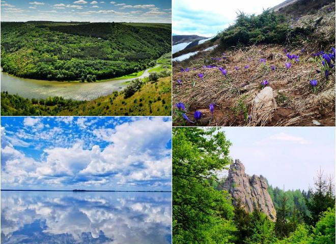 10 природных чудес Украины