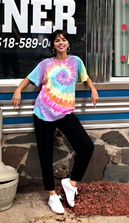 Модные принты на футболках 2020