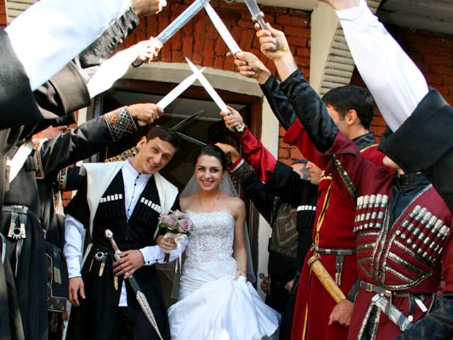 30 фактов о Грузии: Грузинская свадьба