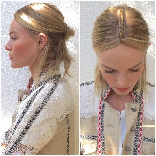 Топ-3 идеи со стильными косами от знаменитостей