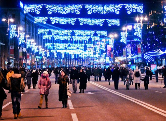 Новый год 2017 в Киеве