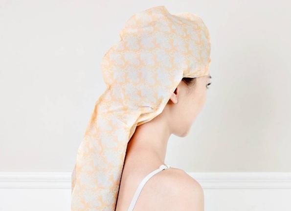 Паперова маска для волосся