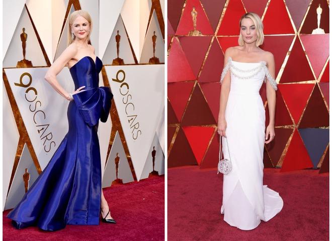Лучшие наряды Оскар 2018