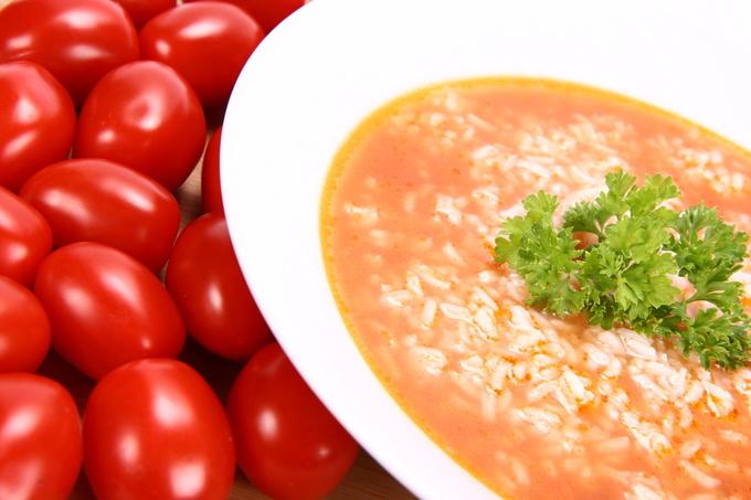 Суп з рисом