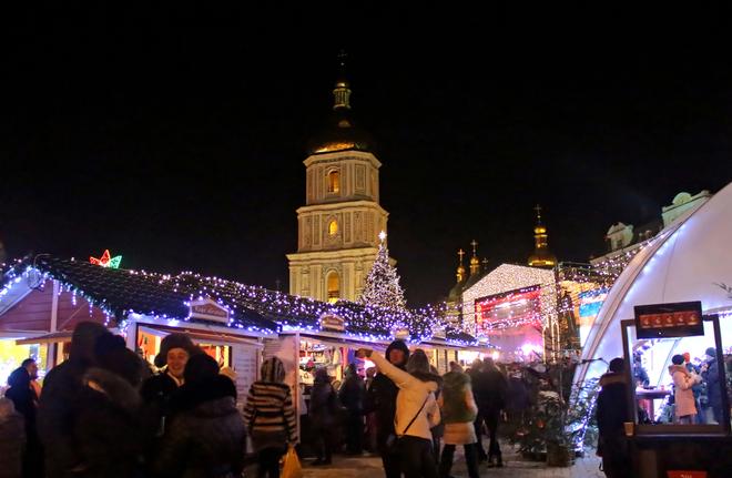 Новий рік у Києві