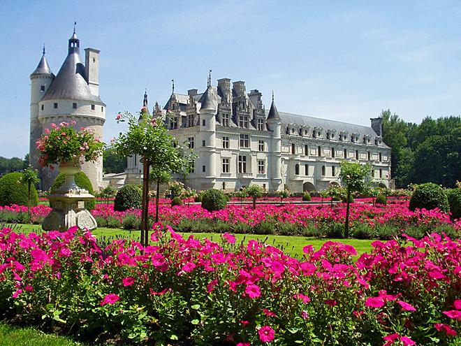 Замки на воде: Замок Шенонсо, Франция