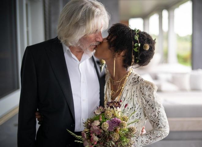 Роджер Уотерс с супругой Камиллой