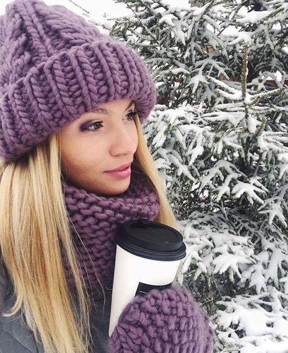 В'язані шапки на зиму