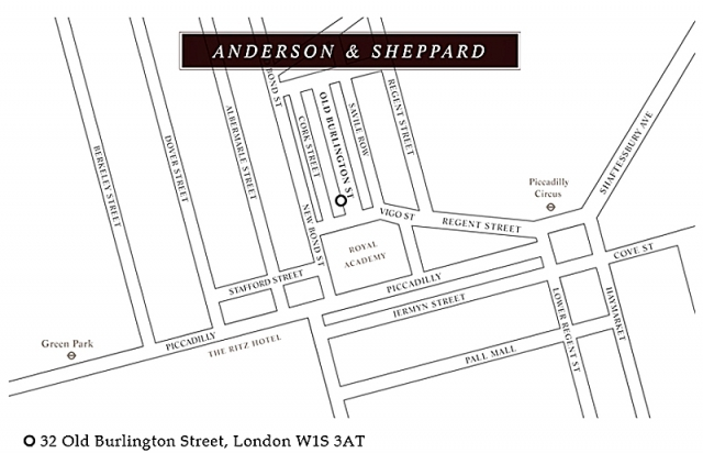 Сэвил-Роу: экскурсия в самое сердце британской моды: ателье Anderson & Sheppard